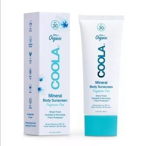 Coola Mineral Body Sunscreen Lotion 3.4 oz/100ml